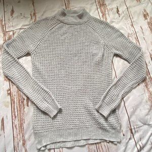 Brave Soul London high neck sweater-gray-sz M